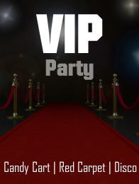 vip party banner